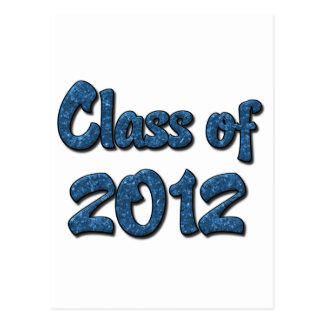Class of 2012 - Blue Postcard