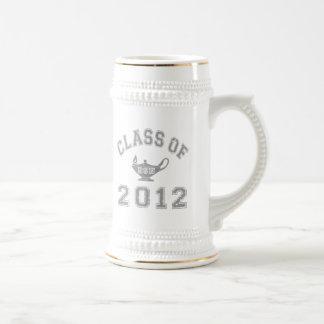 Class Of 2012 BSN - Grey Beer Stein