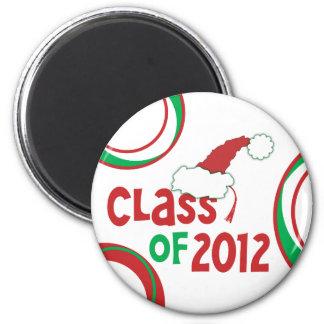 Class of 2012 Christmas w Tassel Refrigerator Magnet