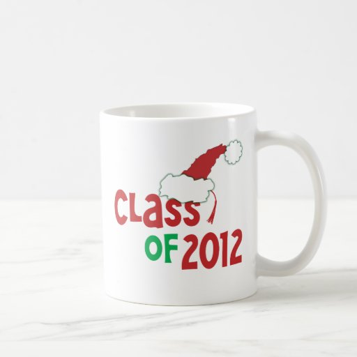 Class of 2012 Christmas w/Tassel Mugs