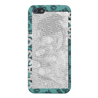 Class of 2012 Cut Out Photo Frame - Teal and Tead iPhone 5 Covers