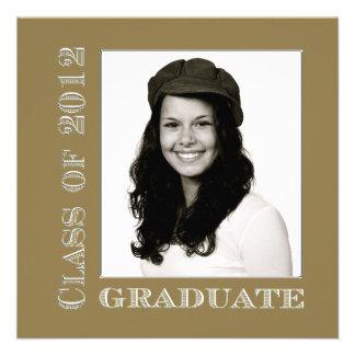 Class of 2012 Gold Silver Graduate Announcement