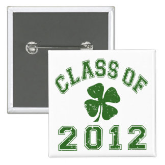 Class Of 2012 - Good Luck 15 Cm Square Badge