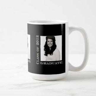 Class of 2012 Grad Black Photo Mug