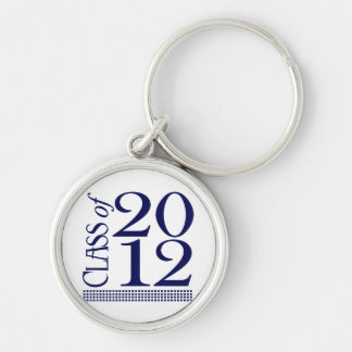 Class of 2012 - GradGear by Cheryl Daniels Silver-Colored Round Key Ring