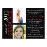 Class of 2012 Graduate Announcement 13 Cm X 18 Cm Invitation Card