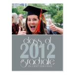 Class of 2012 Graduation Announcement Postcard