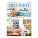 Class of 2012 Graduation Beach Party Personalised Announcements