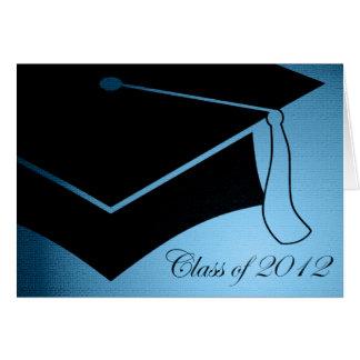 class of 2012 graduation cap card