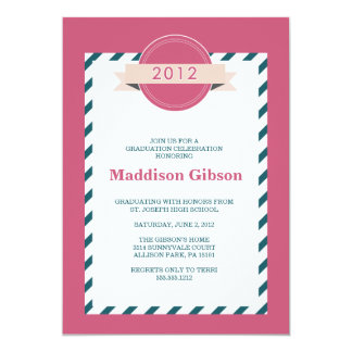 Class of 2012 - Graduation Celebration Card