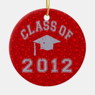 Class Of 2012 Graduation Christmas Ornament