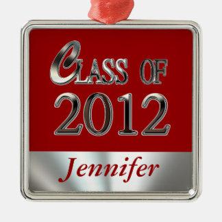 Class Of 2012 Graduation Premium Ornament