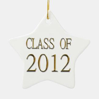 Class Of 2012 Graduation Star Ornament