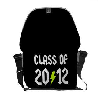 Class Of 2012 Graduation Yellow Bolt Messenger Bags