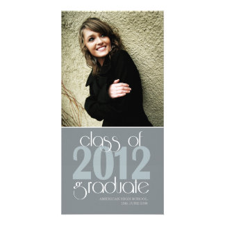 Class of 2012 High School Graduation Photo Card