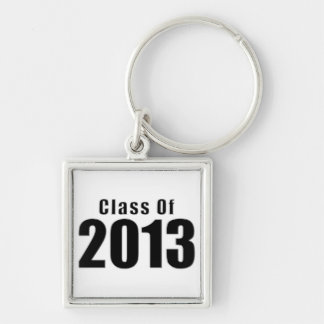 Class of 2012 Keychain Black and White