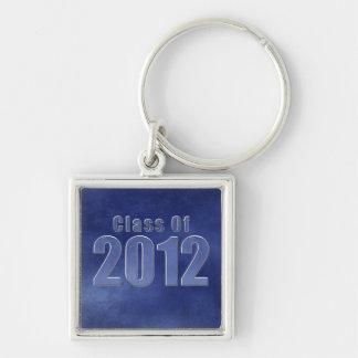 Class of 2012 Keychain Blue Grunge