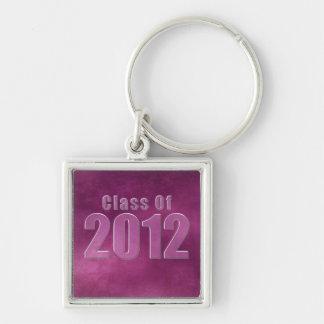 Class of 2012 Keychain Purple Grunge