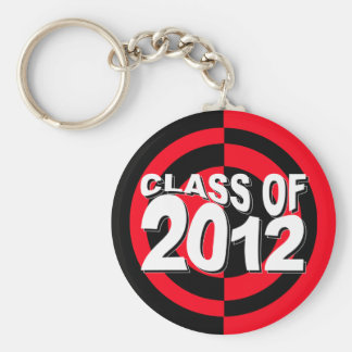 Class of 2012 Keychain Red Black