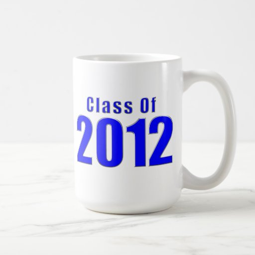 Class of 2012 Mug Blue and Sliver