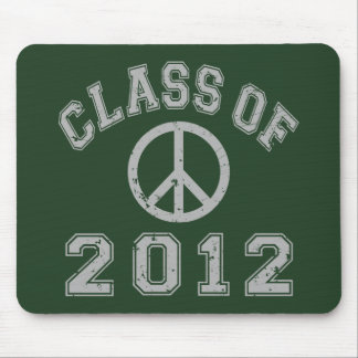 Class Of 2012 Peace - Grey 2 Mouse Pads