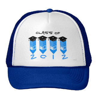 Class of 2012 Pencil Hat Blue
