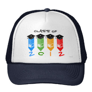 Class of 2012 Pencil Hat Colors 2