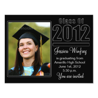 Class of 2012-Photo Graduation Announcement