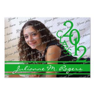 Class of 2012 Photo  green Card
