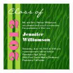 Class of 2012 Pink and Green Change to Any Year
