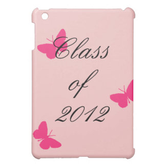 Class of 2012 - Pink Butterfly iPad Mini Covers