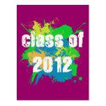CLASS OF 2012 POSTCARD