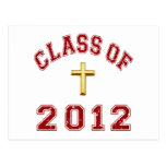 Class Of 2012 Red Post Cards