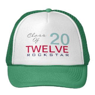 Class of 2012 ROCKSTAR Trucker Hat (Green)