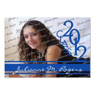 Class of 2012/ Royal Blue Card