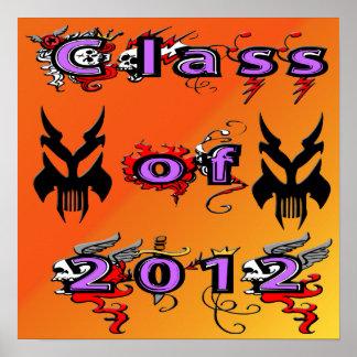 Class of 2012 - Skulls Poster