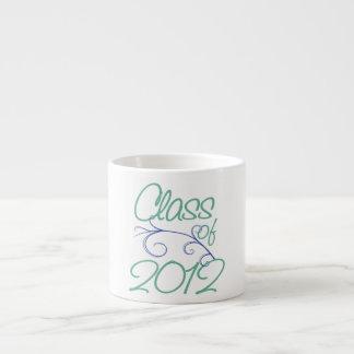 Class of 2012 espresso mug