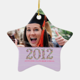 Class of 2012 Star Senior Graduation Ornament