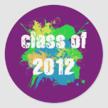 CLASS OF 2012 STICKERS