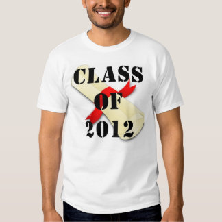 Class of 2012 t-shirts