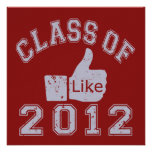 Class of 2012 Thumbs Up - Grey Personalised Announcements