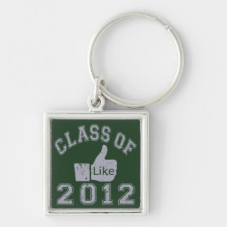 Class of 2012 Thumbs Up - Grey Key Chains