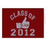 Class of 2012 Thumbs Up - Grey Note Card
