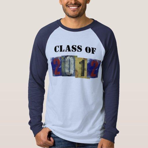Class of 2012 T's T Shirt