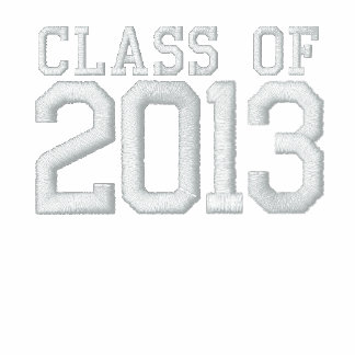 Class of 2012 - white (add your school) embroidered hoodies