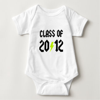 Class Of 2012 Yellow Bolt Baby Bodysuit
