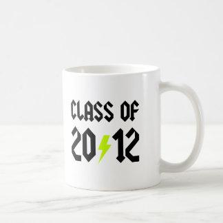 Class Of 2012 Yellow Bolt Basic White Mug