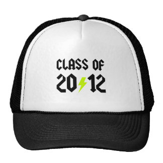 Class Of 2012 Yellow Bolt Cap