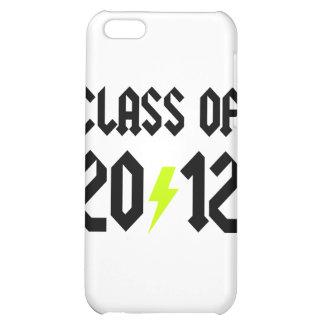 Class Of 2012 Yellow Bolt Cover For iPhone 5C
