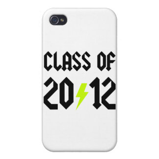 Class Of 2012 Yellow Bolt iPhone 4 Covers